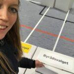 Lisbeth Lauritsen stemmer til kommunalvalg